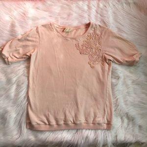 Zara Collection Peach Blouse
